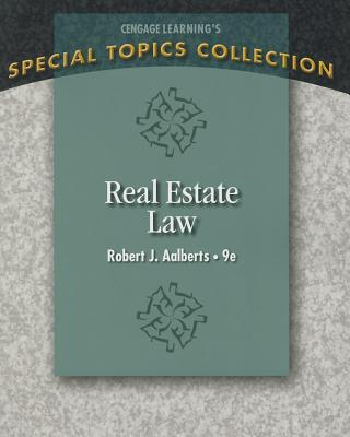 Real Estate Law By Aalberts, Robert J.